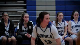 Hempfield Girls Basketball vs Connellsville 1-14-19