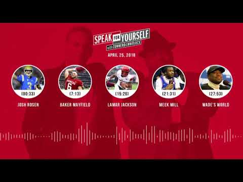 SPEAK FOR YOURSELF Audio Podcast (4.25.18) with Colin Cowherd, Jason Whitlock | SPEAK FOR YOURSELF