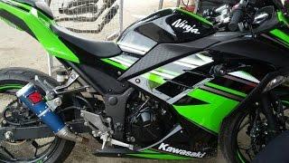 Knalpot Terbaik Untuk Kawasaki Ninja 250fi Merk Audey Bahan CNC Pabrikan #REVIEW