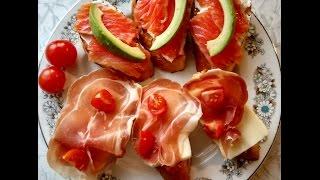 Итальянская брускетта/ Italian bruschetta