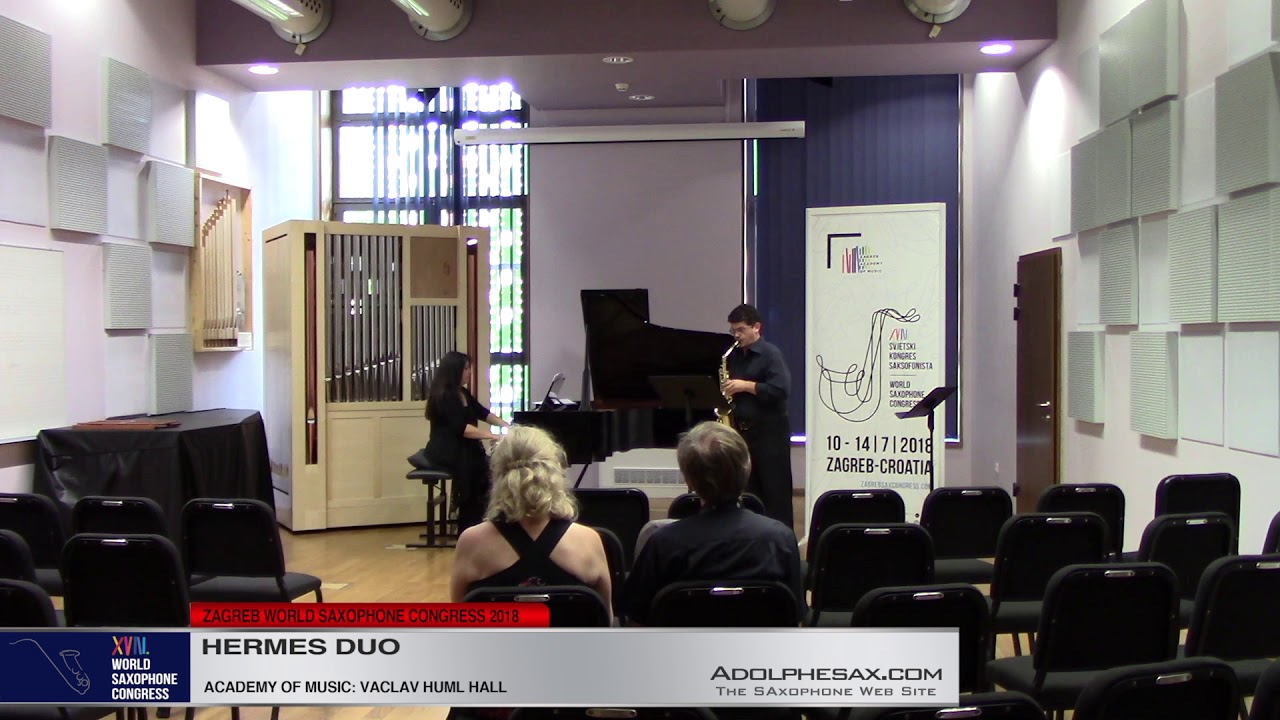 Amphipolis Suite by Paris Paraschopoulos    Hermes Duo   XVIII World Sax Congress 2018 #adolphesax