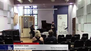 Amphipolis Suite by Paris Paraschopoulos    Hermes Duo   XVIII World Sax Congress 2018 #adolphesax