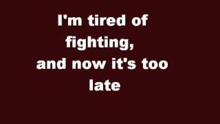 Stanfour - tired again lyrics