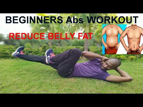 7 Simple Abs Workout At Home For Beginners (No Equipment)