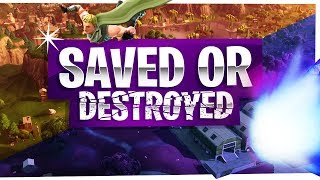 Fortnite Destroyed by the Comet or Saved by the Heroes!? - Fortnite Battle Royale Gameplay Season 4