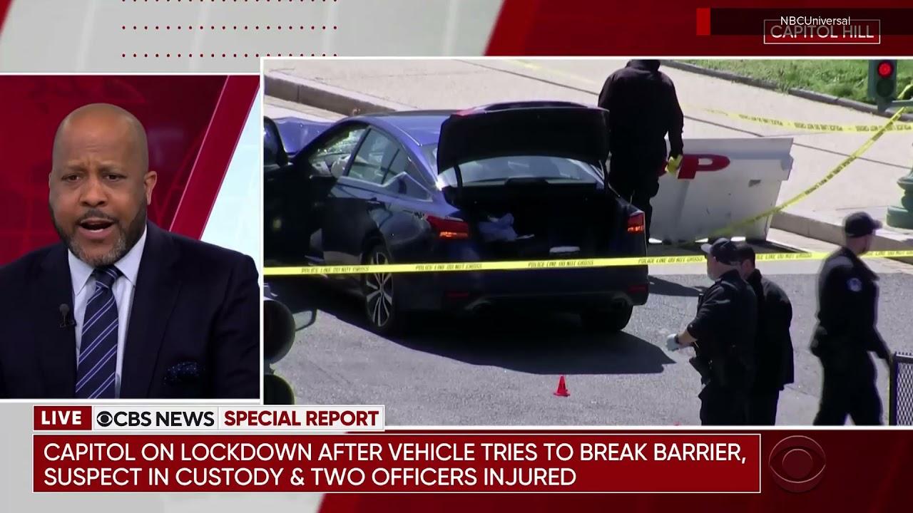 CBS special report open: April 2, 2021 Capitol car ramming