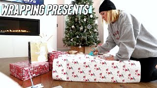 wrapping christmas presents! vlogmas day 20