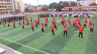 Những ngày xuân rực rỡ - CLB Dân vũ Học viện CSND (Flying cam)