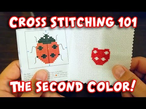 Learn How: Cross-Stitching 101, The Second Color