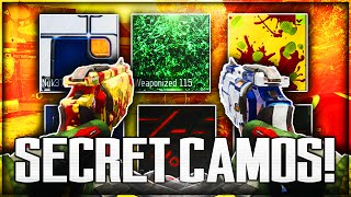 "BETTER THAN ""DARK MATTER"" CAMO! ALL ""SECRET"" & ""HIDDEN"" CAMOS IN BLACK OPS 3! (BO3 HIDDEN CAMOS)"