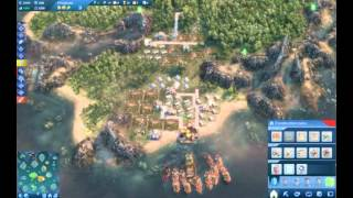 Anno 2070 Battle Against Keto on Hard, Getting steamrolled