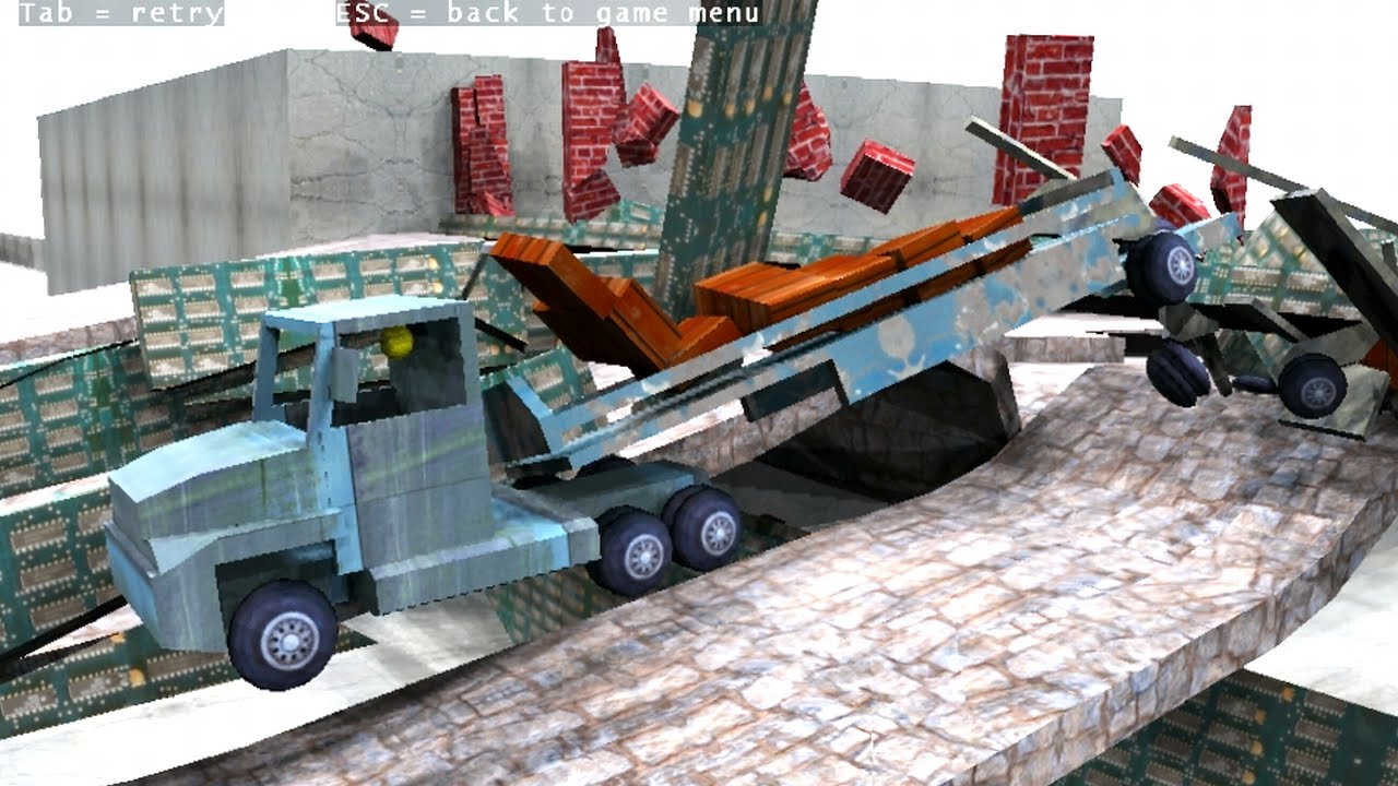 tricky truck forrogerio7 level fail b double quarry road train exterior and interior. Black Bedroom Furniture Sets. Home Design Ideas
