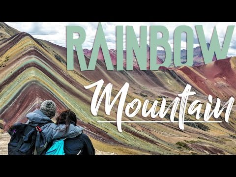 RAINBOW MOUNTAIN DAY HIKE // PERU