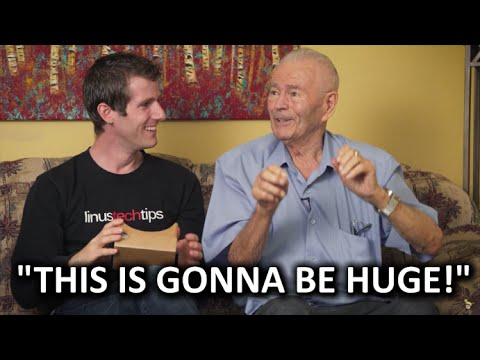 My 91yr Grandpa Meets Google