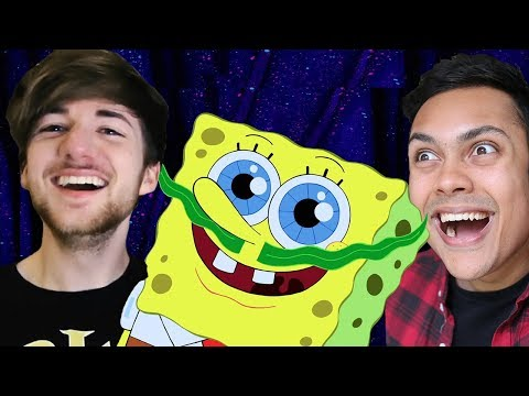 REACTING TO THE FUNNIEST GIFS ON THE INTERNET feat. MessYourself