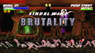 [Psx] Mortal kombat Trilogy
