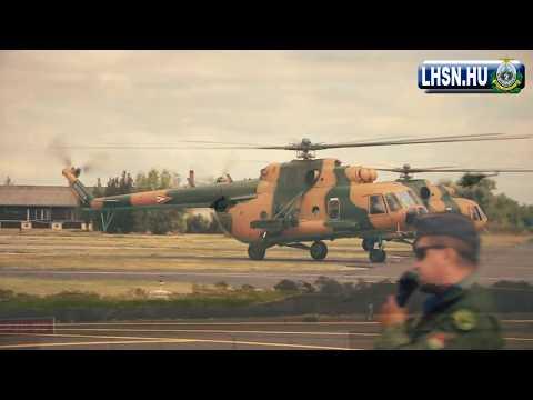 Nagyjavított Mi-17-k átadása Szolnokon