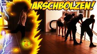 Arschbolzen-Challenge feat. Monte, Marcel, Lena, Haptic und Avive