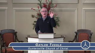 Guntersville Church of Christ January 19, 2020