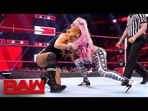 Becky Lynch vs. Liv Morgan - Beat the Clock Challenge Match: Raw, March 25, 2019
