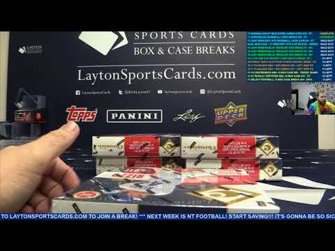 2017 Panini Chronicles Baseball Hobby 8 Box Break #30 – RANDOM TEAMS