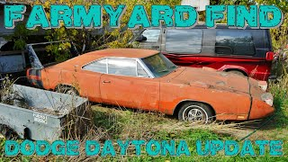 The 1969 Dodge Charger Daytona Barn Find Update!