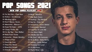 50 TOP HITS ENGLISH SONGS ON SPOTIFY | Top Songs 2021 🍩🍩 Popular Music 2021