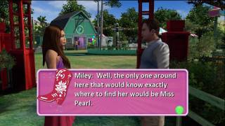 """Hannah Montana - The Game XBOX 360  """"Herding and Singing..."""""""