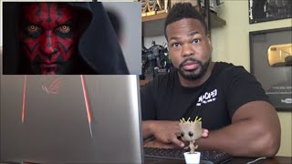 Twitter Is Trying To Cancel Darth Maul?!