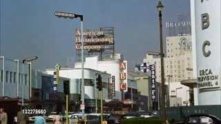 """Sunset and Vine 1960  NBS Studios & Street scene  """"Vintage Los Angeles"""" on Facebook"""