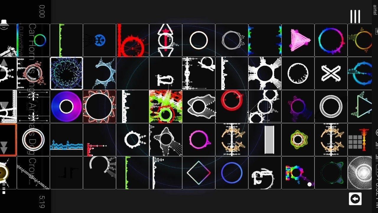 Awesome avee music player template Visualizer Download | Avee player  tutorial Dj pankaj Raj