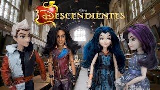 Disney Descendientes Muñecas - Episodio 1 Mal Evie Ben Jay Carlos