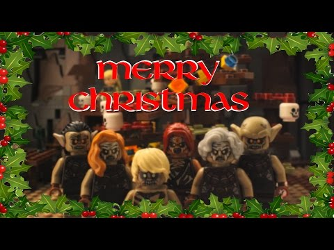Lego Lord Of The Rings Merry Christmas The Elf On The