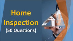 Home Inspection Practice Test (50 Questions & Answers with Explanations)
