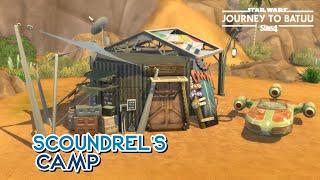 SCOUNDREL'S CAMP | The Sims 4: Speed Build (NO CC)