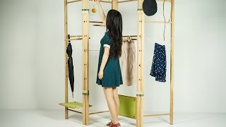 "Jingjie Guan-""fong"" Clothes Rack Design"