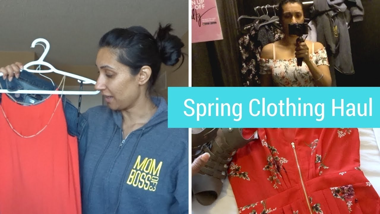 [VIDEO] - Spring Shopping Haul | Outfits for L.A. | MOM BOSS OF 3 9