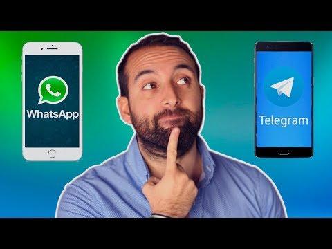 WHATSAPP Vs TELEGRAM, ¿cuál Es MEJOR Y Cuál USAR?