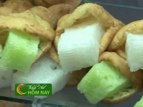 Bánh tiêu bánh bò - Món Ngon [HTV9 -- 09.05.2013]