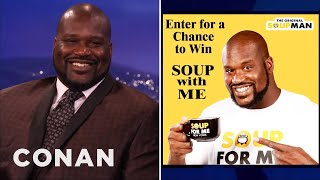 Shaquille O'Neal's Many, Many, MANY Endorsements  - CONAN on TBS