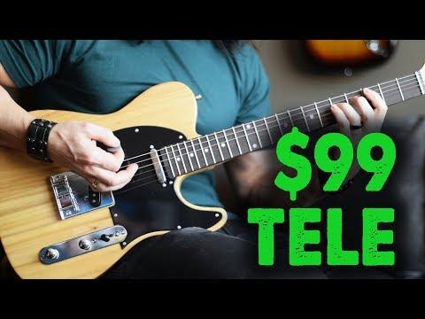 The $99 Telecaster! - Demo / Review