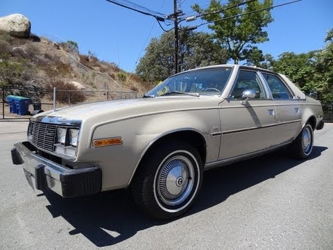 79 AMC Concord DL 2wd Eagle Sedan 258 Test Drive VAM American Classic Car Review