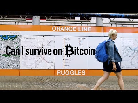 Can I Survive On Bitcoin For A Day?