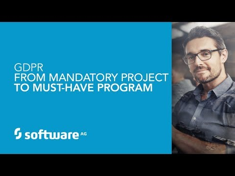 GDPR – From Mandatory Project to Must Have Program