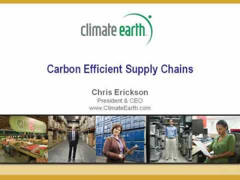 Carbon Efficient Supply Chains, Part 1