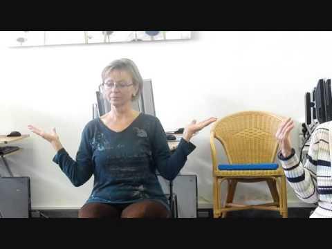 Ukázkové video cvičení na židlích - natočeno 29. září 2015
