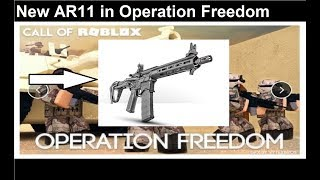 🏹Call of Roblox Operation Freedom🏹 - New AR11