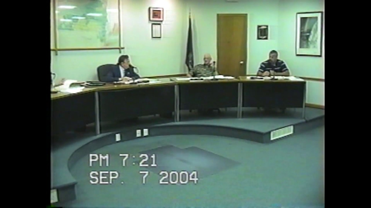 Rouses Point Village Board Meeting  9-7-04