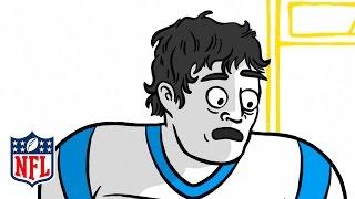 Carolina Panthers Prank Luke Kuechly   Rookie Handbook   NFL