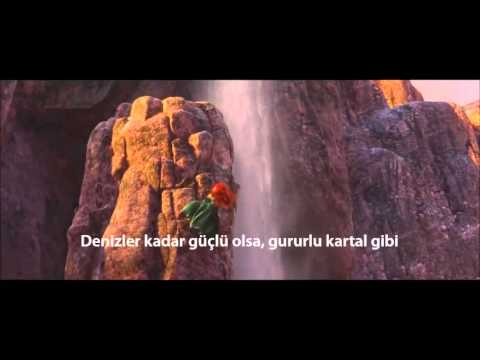 Disney's Brave 2012 OST - Touch the sky Turkish & Subtitles